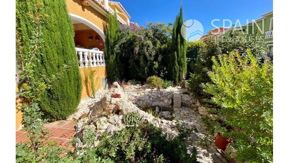 Nice apartment with terrace and garden in Benitachell Cumbre del Sol; Costa Blanca