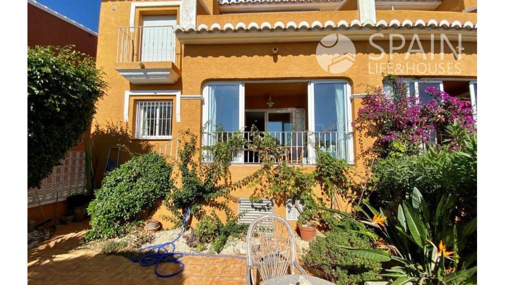 Pekný 3 izbový apartmán so záhradou, Benitachell, Cumbre del Sol, Costa Blanca